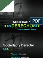Sociedad y Derecho CLASE 1