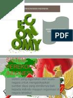 Presentasi Sistem Perekonomian Indonesia Pagi B (Anisya M dan Nanang R).pptx