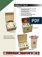Portable DC Hipots of Phenix Technologies