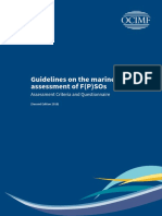Guidelines for the Marine Assessment of FPSOs