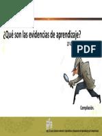 evidencias
