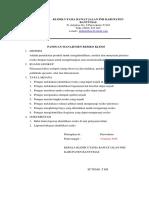 9.1.1. Panduan Manajemen Resiko Klinis