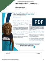 Evaluación_ Sustentacion Trabajo Colaborativo - Escenario 7
