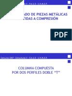 Compresión - Columna Compuesta Acero