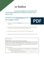 m21 io outline - google docs