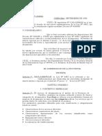 Ley 6483 de La Provincia de Cordoba