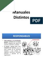 Manuales Distintos
