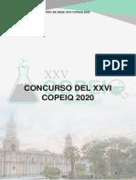 Reglamento Concurso COPEIQ 2020
