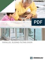 KOEMMERLING Brochure Parallel Sliding Tilting Door