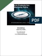 Ball Warranty Guide