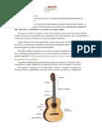 informacion de la guitarra