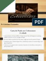 Carta de Paulo Aos Colossenses.pptm