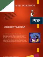 La Violencia en tv para niños
