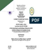 Certificate Graduation