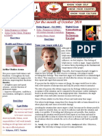 Disha Newsletter October 2018