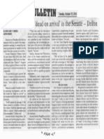 Manila Bulletin, Oct. 22, 2019, Consider HB 4802 dead on arrival in the Senate - Drilon.pdf