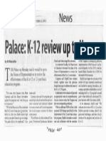 Manila Standard, Oct. 22, 2019, Palace K-12 review up to House.pdf