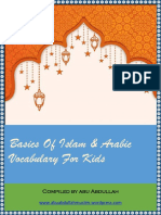 Basics of Islam & Arabic Vocabulary for Kids