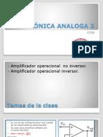 El amplificador operacional diferencial, inversor, no inversor.pptx