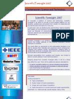 ScientificForesight 2007