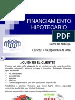 1Financiamiento Hipotecario Septiembre 2019