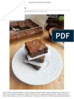 Brownies Con Aceite