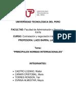 Principales Normas Internacionales