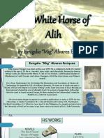White horse of alih