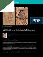 Raco Historic Mujer Historia Fisioterapia