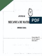 Apuntes de Mecánica de Materiales