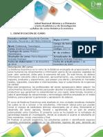 Syllabus Botánica Económica