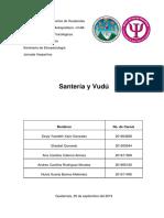 Santería y vudú.docx