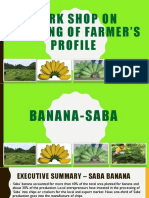 Saba Banana Roadmap