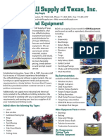 InDrill Oil and Gas Products Catalog