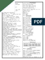 MATH30 6 Formulas