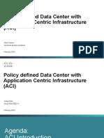 Policy Defined DC ACI Slovenija
