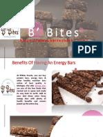 Benefits of Having an Energy Bars