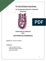 Corrosion Electrodo