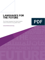 British Council - Languages for the Future
