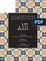 Acts of Devotion September 2019