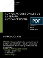 Complicaciones orales terapia anticancerigena