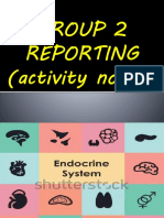 Endocrine System Reporting