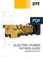 Caterpillar Electric Power Ratings Guide