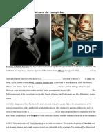 Tamara de Lempicka Biography Student a and b