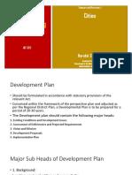 3 UP Development Plan PPT 3-2019