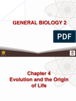 4 Evolution and the Origin of Life