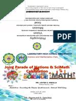 Scimath Programme