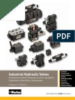 Industrial Hydraulic ValvesCat HY14 2500 DCVPCVServoElect 12 11