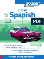Assimil Phasebook Cuban Spanish