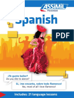 Assimil Phrasebook Spanish
